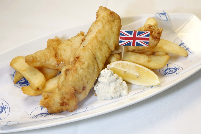 UK - Beer Battered Fish and Chips $58