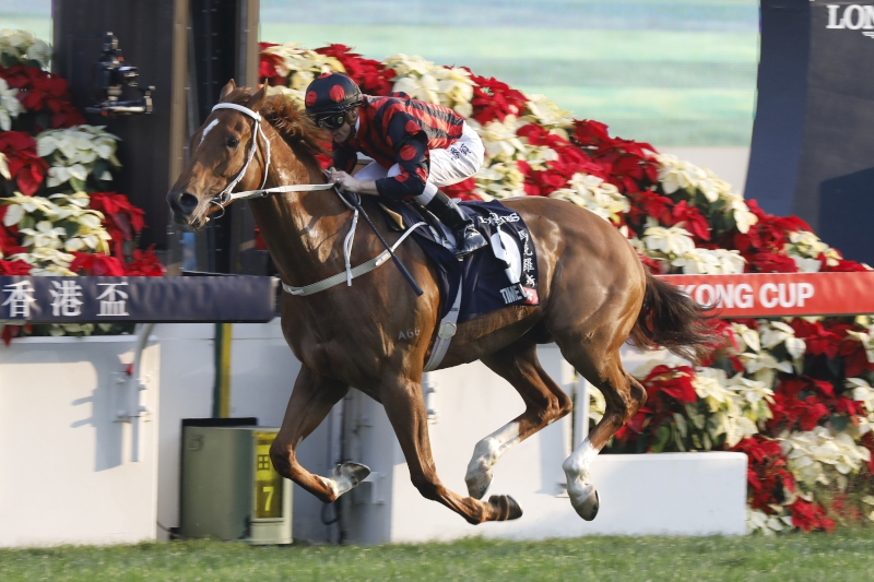 Time Warp cruises to victory in the G1 LONGINES Hong Kong Cup.