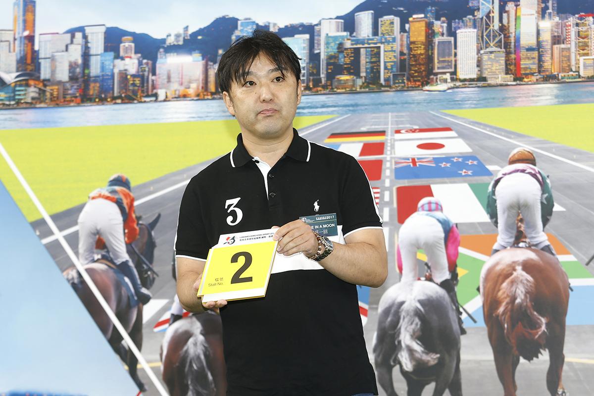 浪琴表香港短途錦標 – 練馬師齋藤誠為旗下日本代表「每月一回」抽得第2檔。