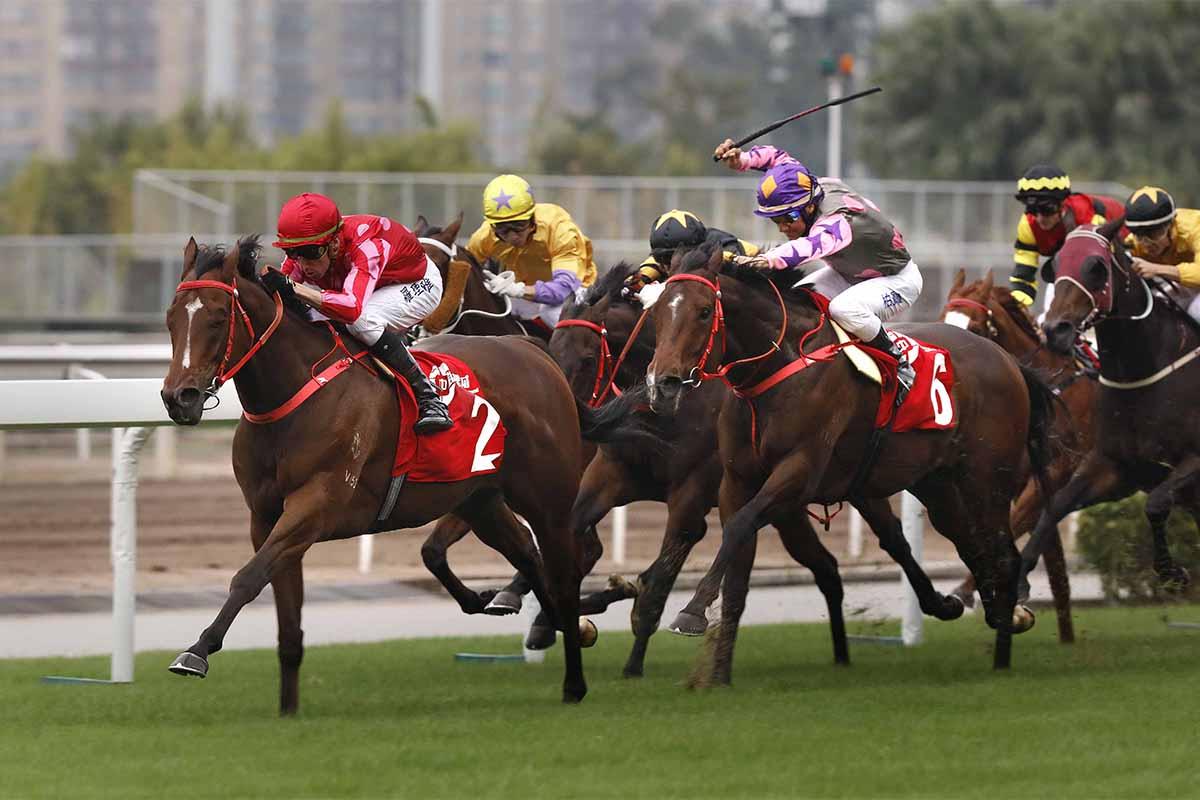 「紅衣醒神」在浪琴表香港短途錦標中抽得第四檔。