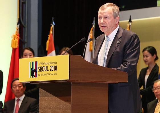第三十七屆亞洲賽馬會議在首爾開幕