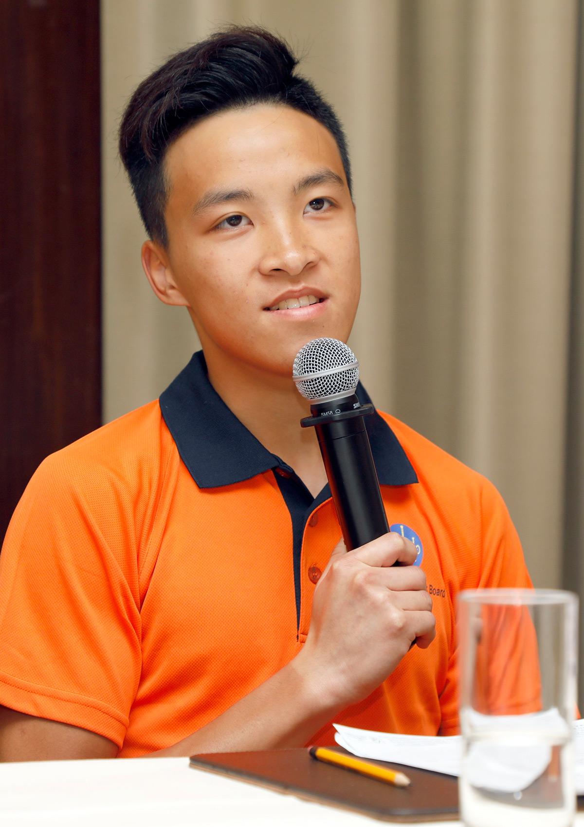 賽事見習學員王俊暉指要成功投考成為賽事見習學員,體能及鬥心決一不可。