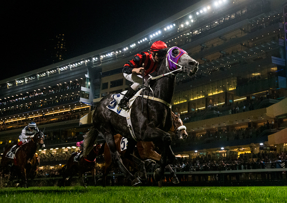 Super night for Purton as Cruz scores first win with Italian Derby winner Chic