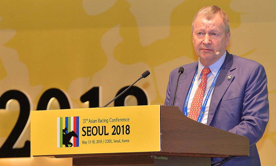 "Hong Kong Jockey Club CEO calls for a global racing ""master brand"""