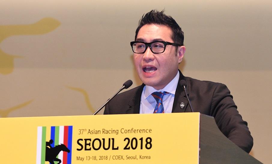 Hong Kong's wagering strategy presented at 37th Asian Racing Conference