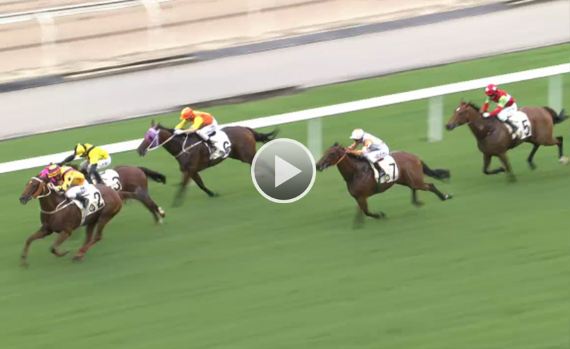 Winner's Way lands the HKSAR Chief Executive's Cup at the season opener.