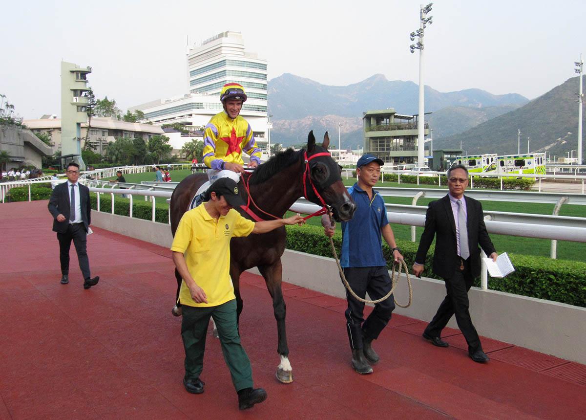 BMW Hong Kong Derby winner Ping Hai Star returns after an eye-catching second-place.