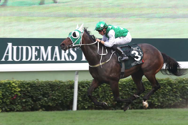 The Tony Cruz-trained Pakistan Star, under William Buick, lands the HK$24 million Audemars Piguet QEII Cup (Group 1, 2000m) at Sha Tin Racecourse today.