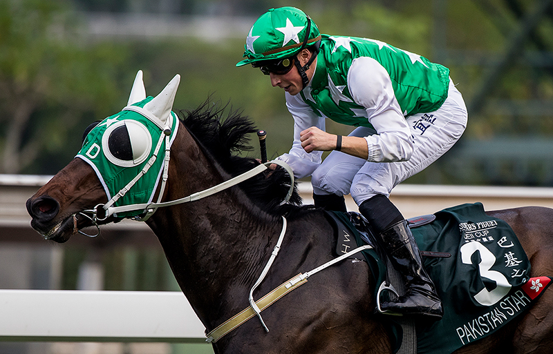 Pakistan Star gets his maiden G1 success in today's 2000m major feature.