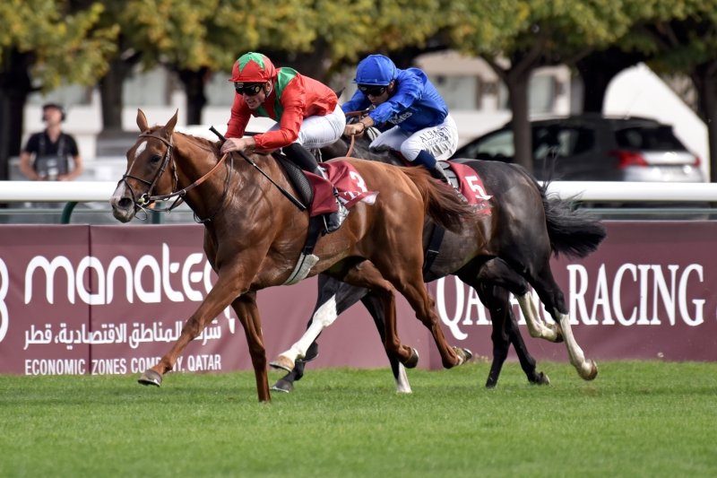 Arc fourth Waldgeist is ready to roll for Fabre in LONGINES