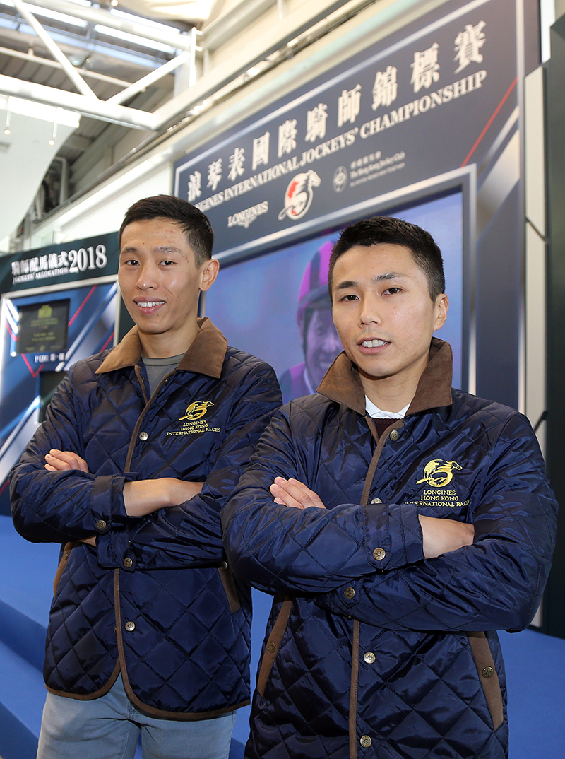 Vincent Ho and Matthew Poon are looking forward to this year's IJC.