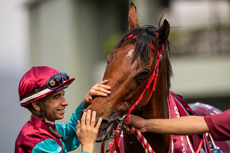 Joao Moreira has stayed loyal to Beat The Clock.