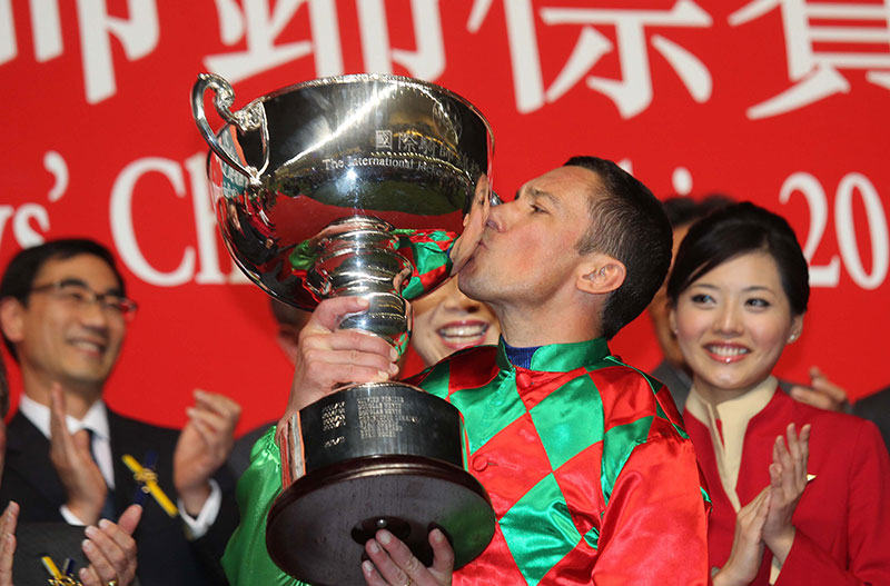 Frankie Dettori is a three-time winner of the IJC.