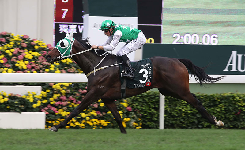 Pakistan Star's biggest win came in the G1 QEII Cup at 2000m.