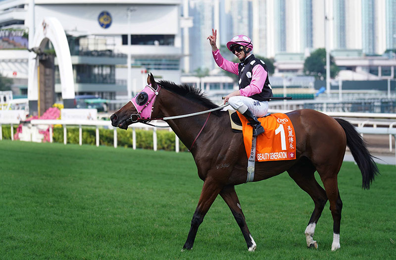 Beauty Generation kicks off his campaign on Tuesday.