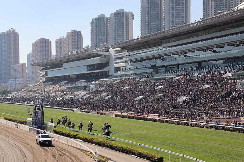 A huge number of fans flocked to Sha Tin Racecourse for LONGINES Hong Kong International Race Day.