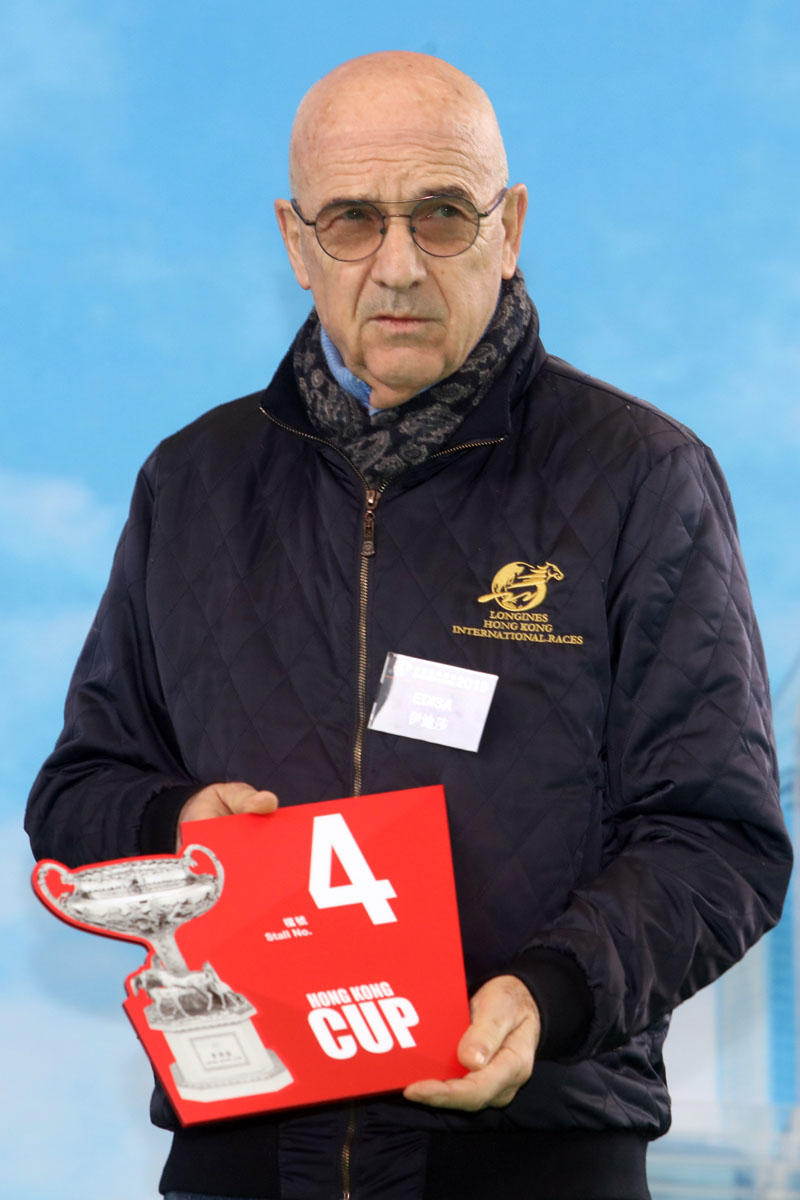 LONGINES Hong Kong Cup – Trainer Alain de Royer Dupre draws Gate 4 for his runner Edisa.