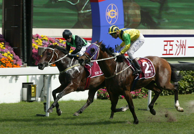 Bullish Luck downs Silent Witness in historic contest