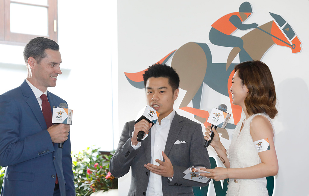 Patrick Kwok Ho Chuen, Owner of Beauty Generation, shares his expectations for Hong Kong's master miler in FWD Champions Day.
