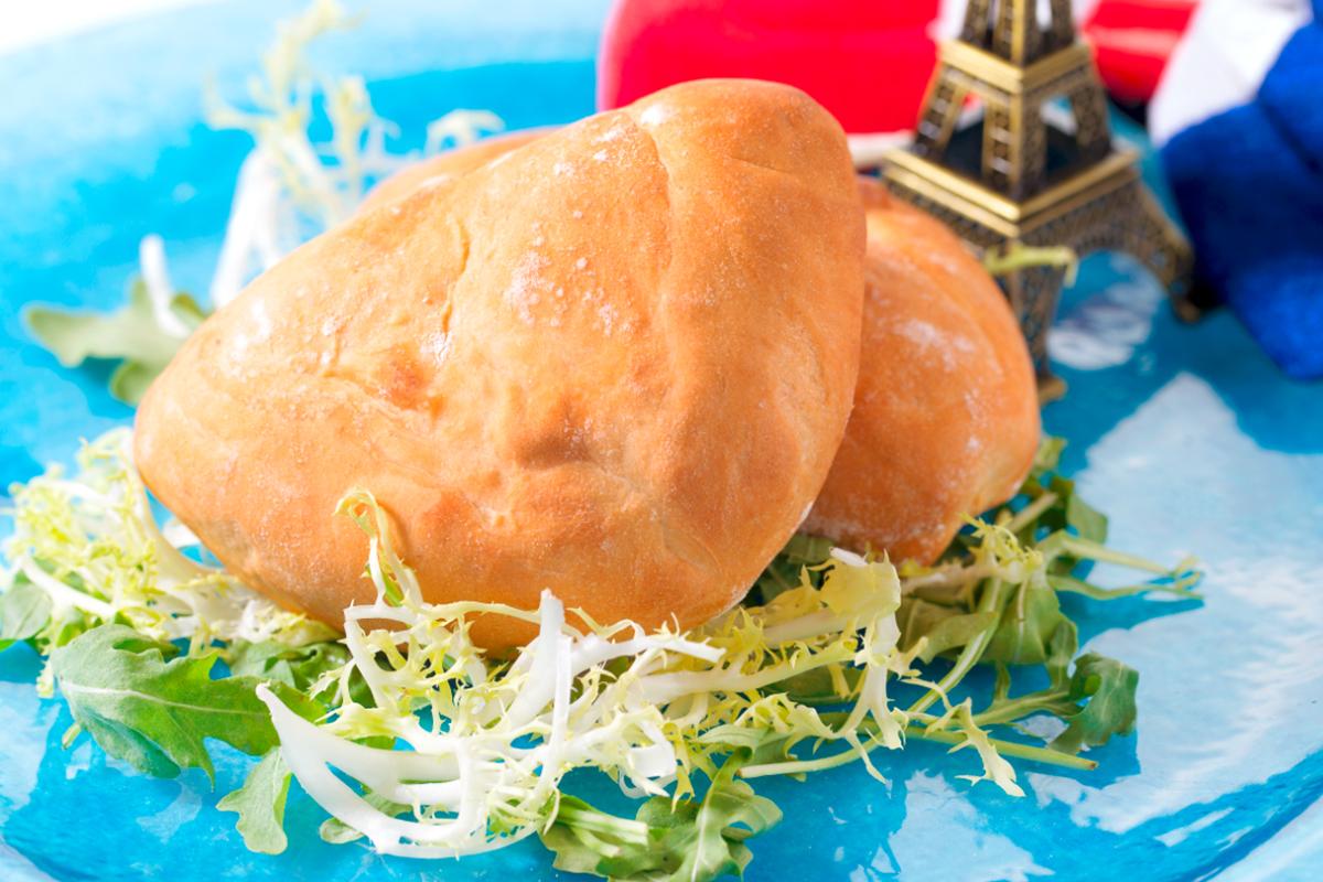 法式焗火腿芝士餡包