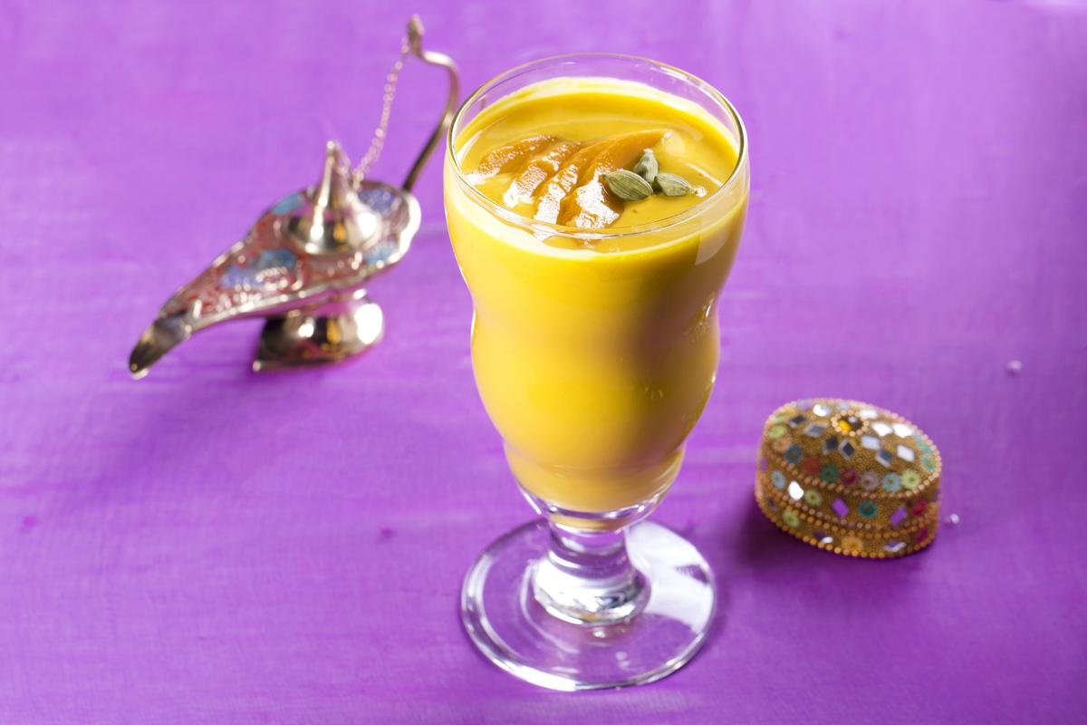 印式芒果茴香乳酪特飲