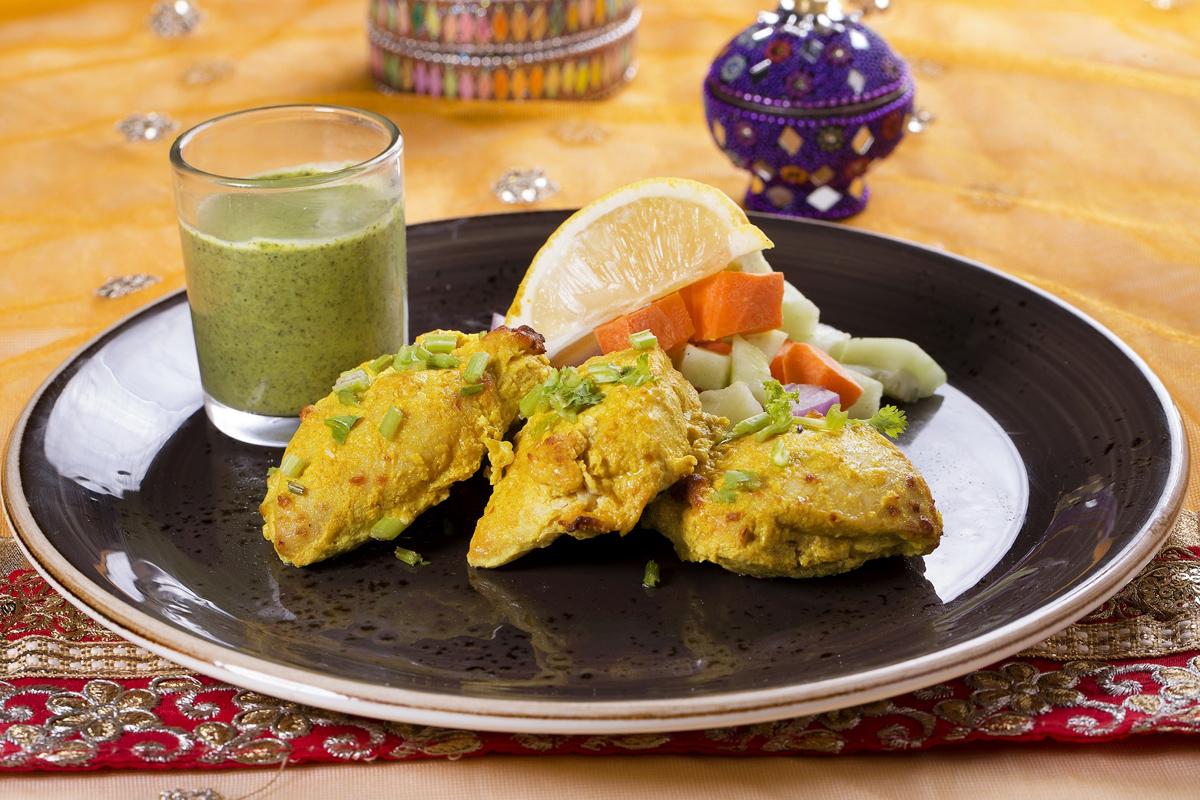 印式烤乳酪香草雞扒