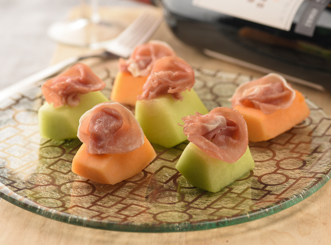 Parma Ham with Melon (HK$60)