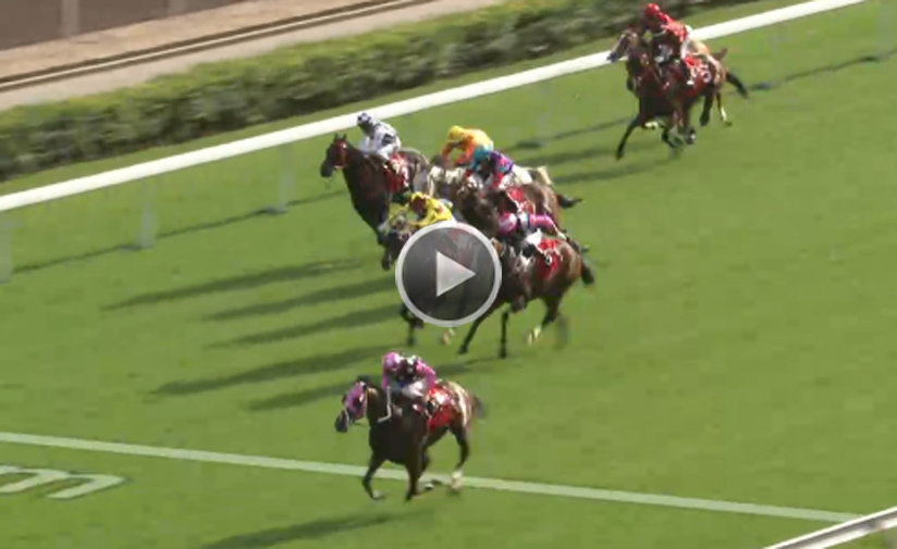 Beauty Generation storms home to take the G2 BOCHK Wealth Management Jockey Club Mile.