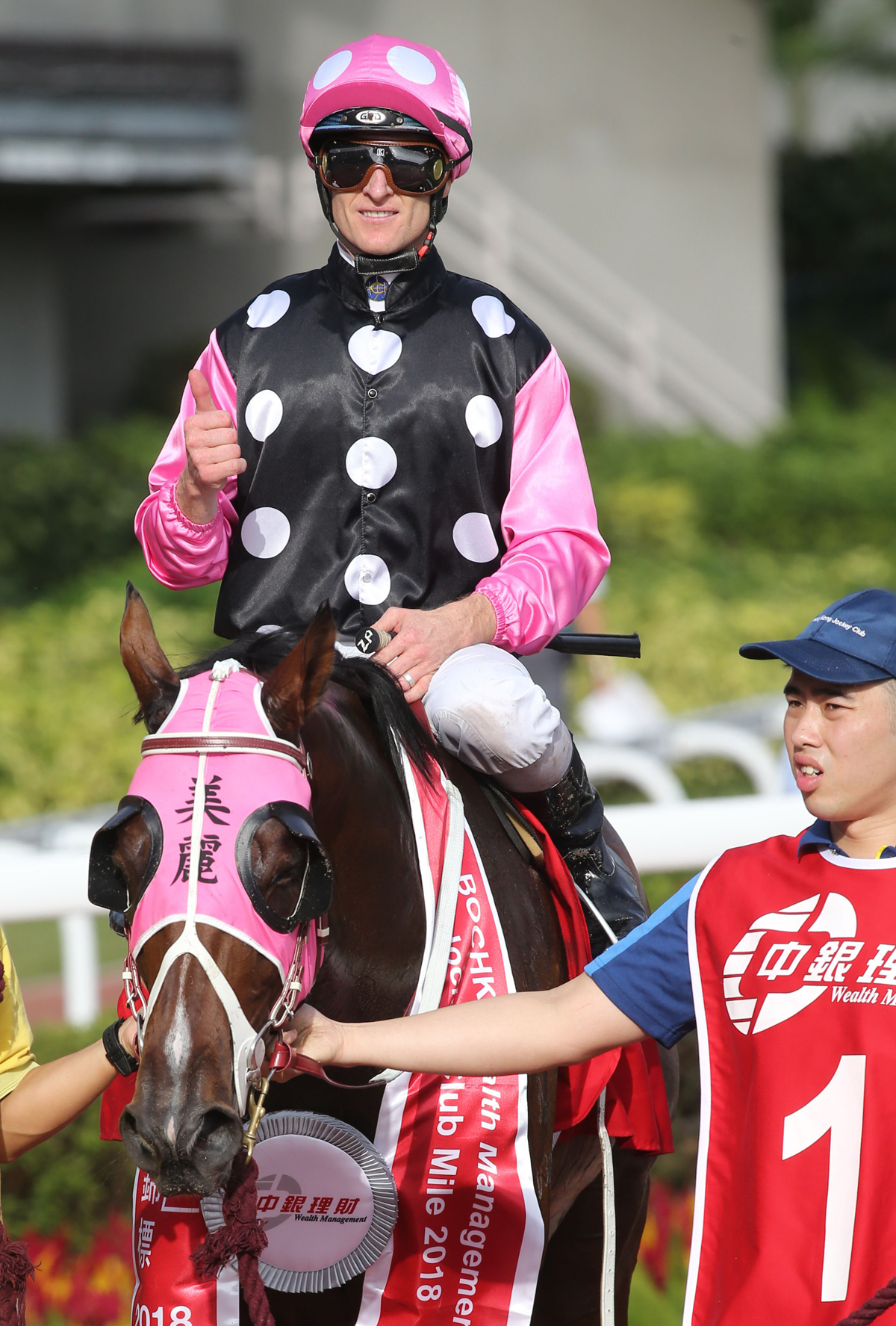 Zac Purton hails Beauty Generation's terrific performance.