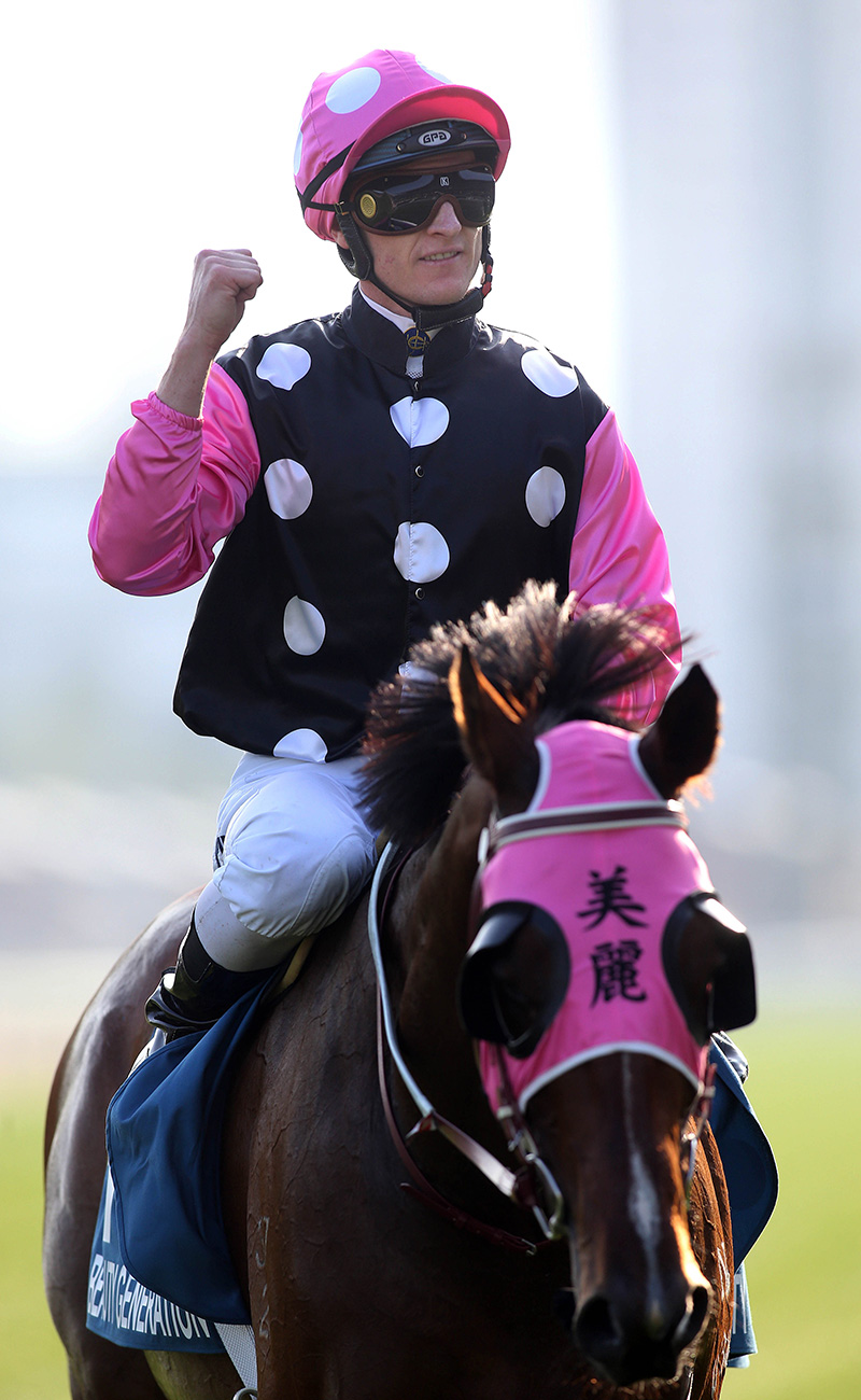 Zac Purton and Beauty Generation seal another G1 triumph.