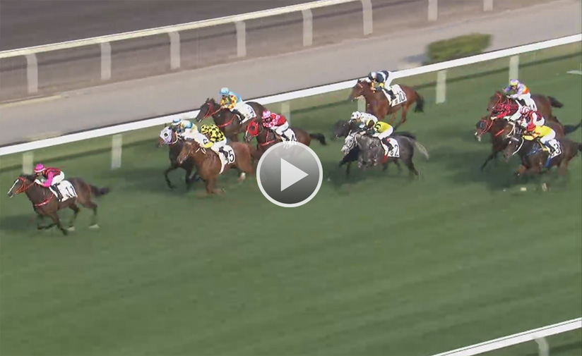 Waikuku quickens clear of his rivals under Joao Moreira.