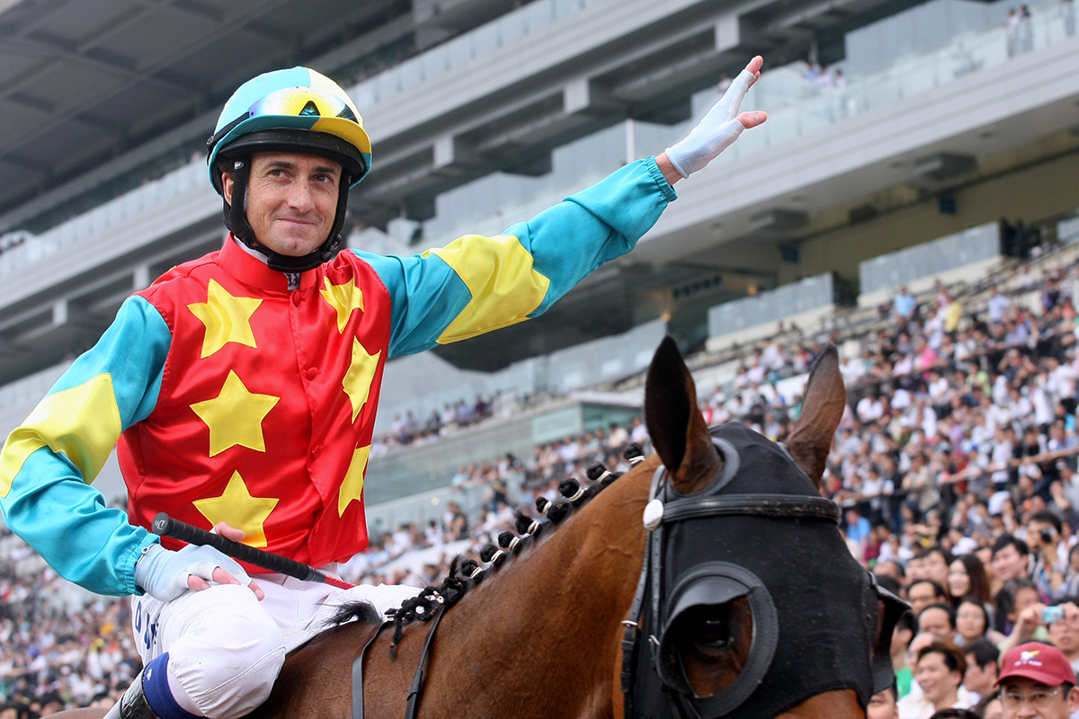 Douglas Whyte has ridden Hong Kong champions including the brilliant Ambitious Dragon.