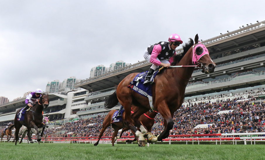 Beauty Generation steams to victory in G1 Queen's Silver Jubilee Cup