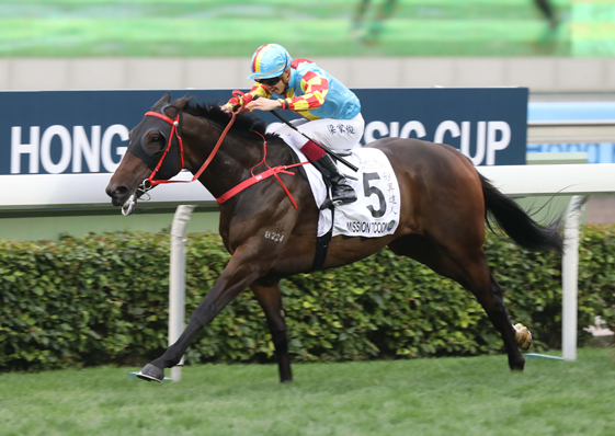 Mission Tycoon shocks them in Hong Kong Classic Cup