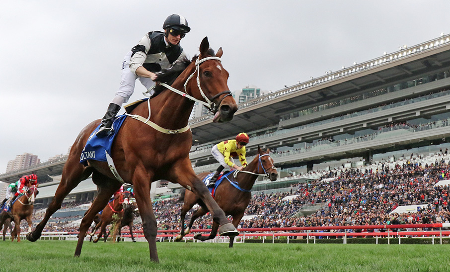 Exultant cements star stayer status in thrilling Citi Hong Kong Gold Cup