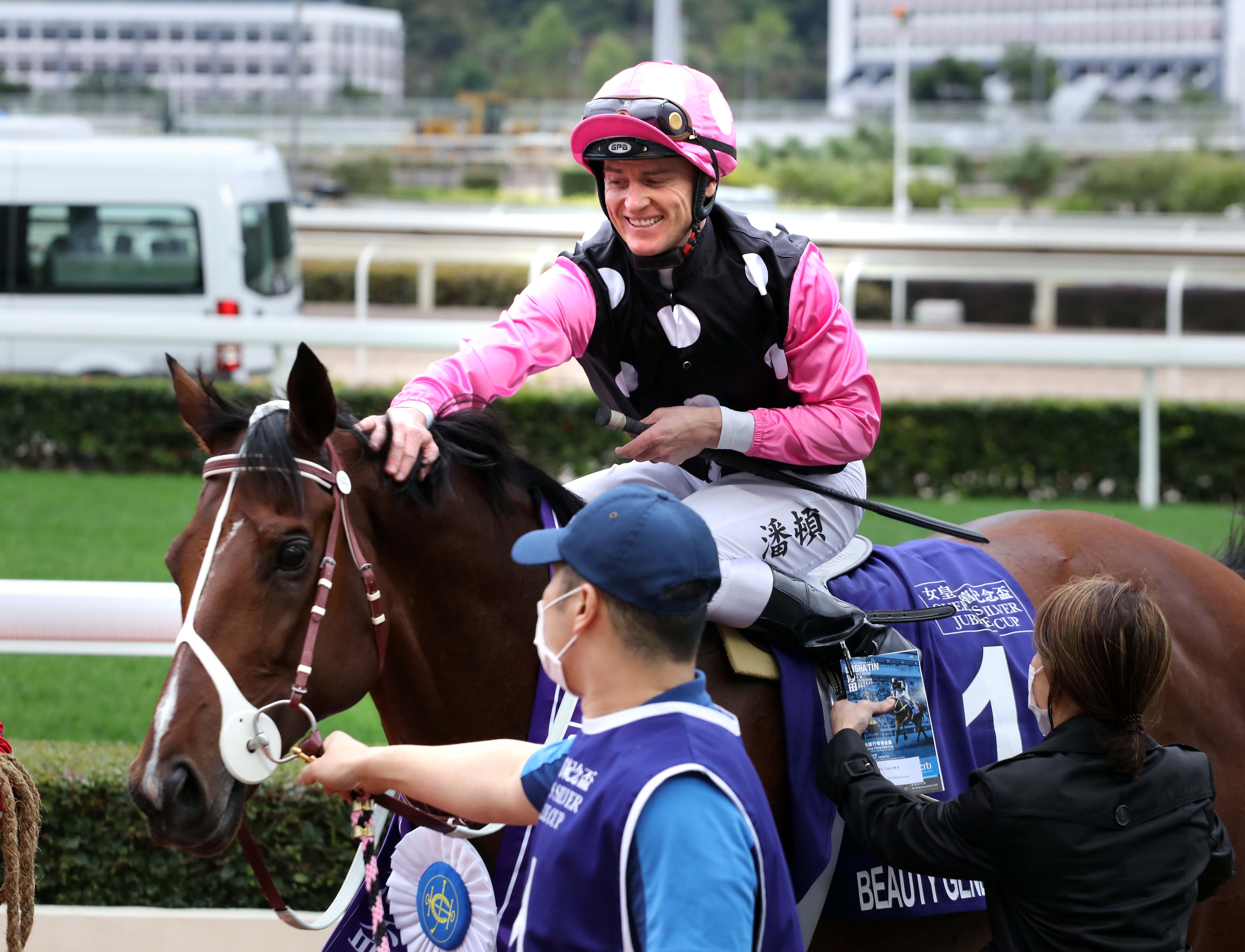 Zac Purton gets his first G1 win of the term.
