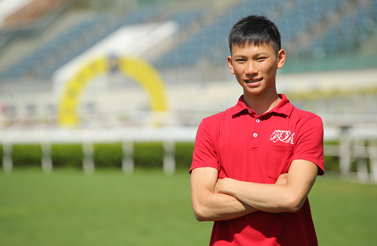 Apprentice Jockey Jerry Chau attributes his success to the Club's Racing Trainee Programme.