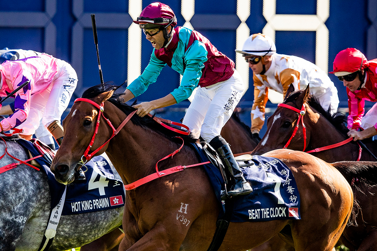 Beat The Clock lands the LONGINES Hong Kong Sprint in style.