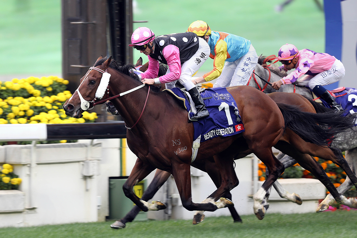 Beauty Generation scores his eighth G1 win in the Queen's Silver Jubilee Cup.