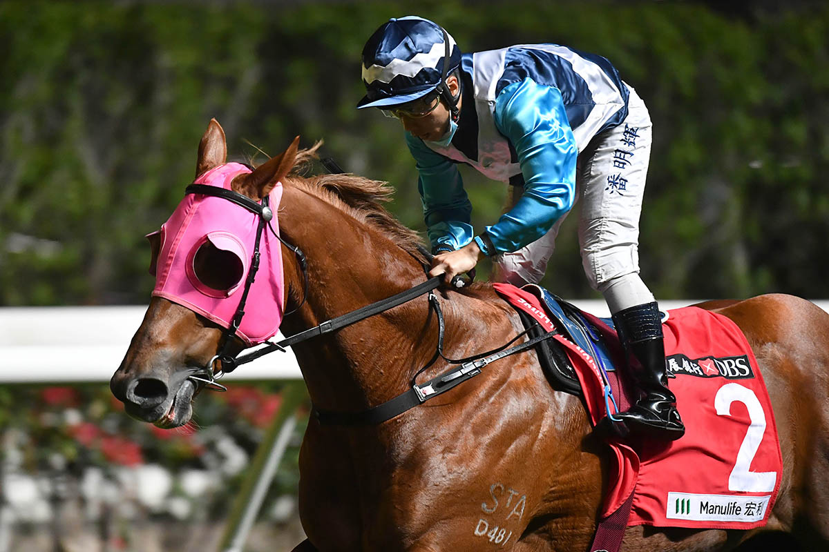 Igniting secures a treble for Matthew Poon.