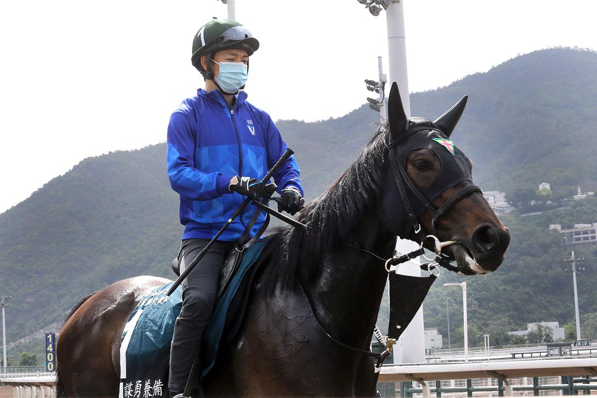 Kohei Matsuyama renews his association with Daring Tact.