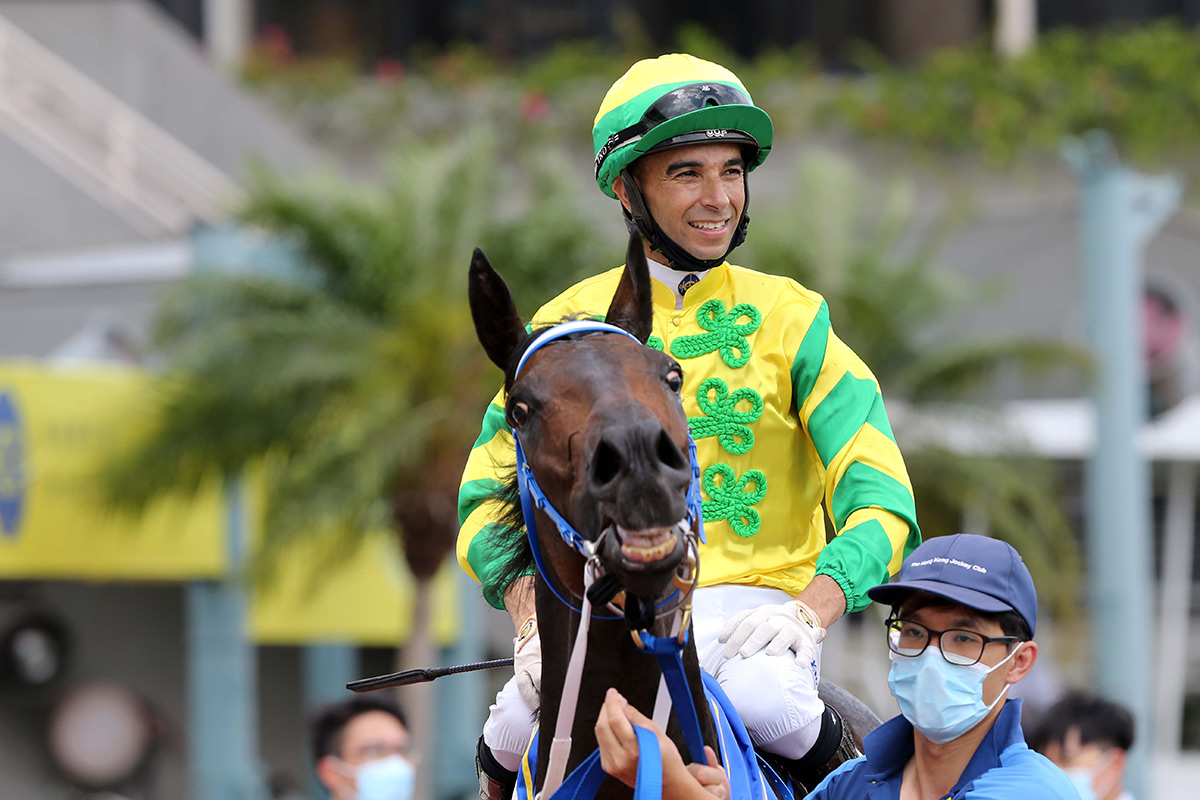 Joao Moreira has unshakeable faith in the Derby champion.